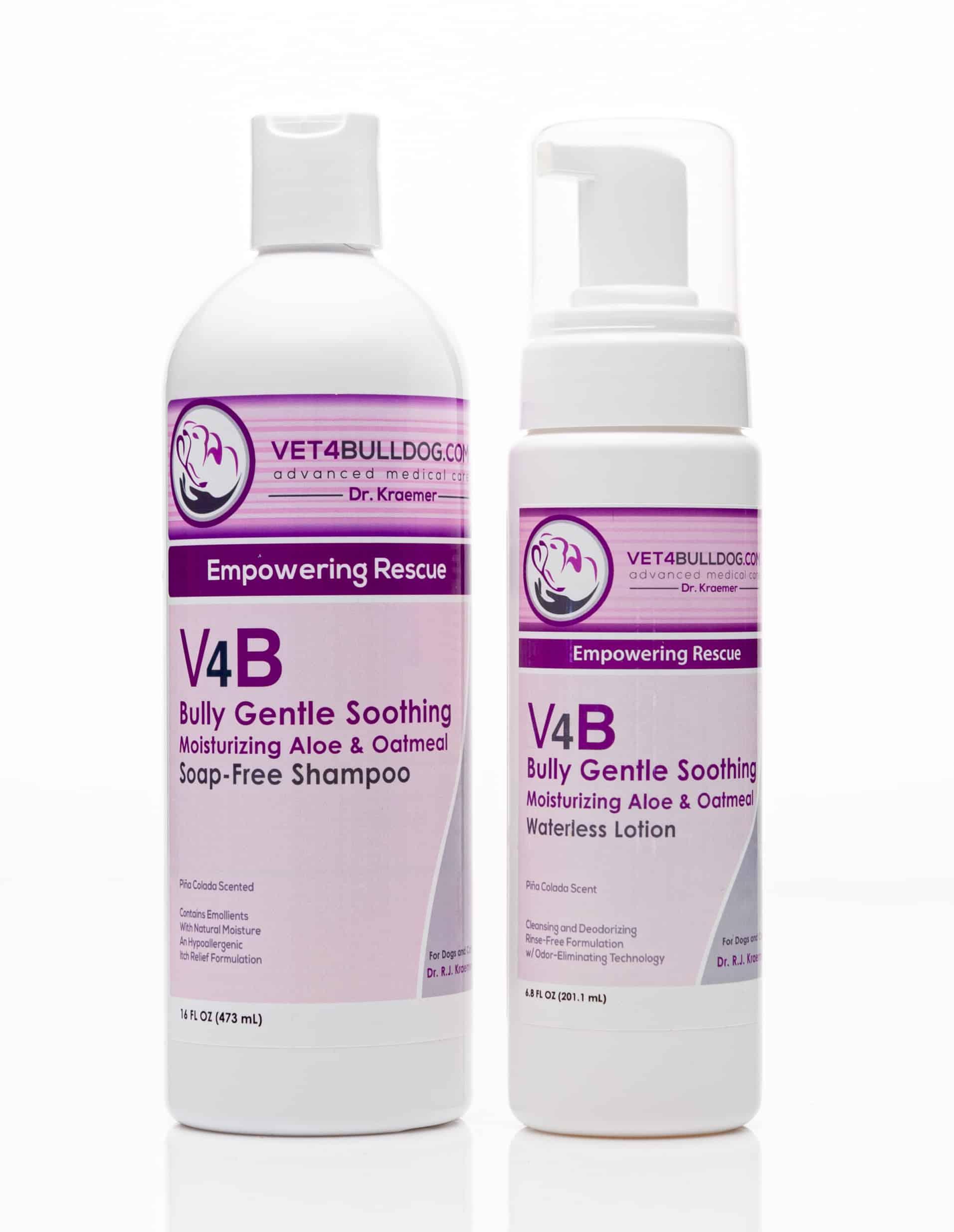 V4B Oatmeal Aloe Bulldog Skin Care Affordable Bundle