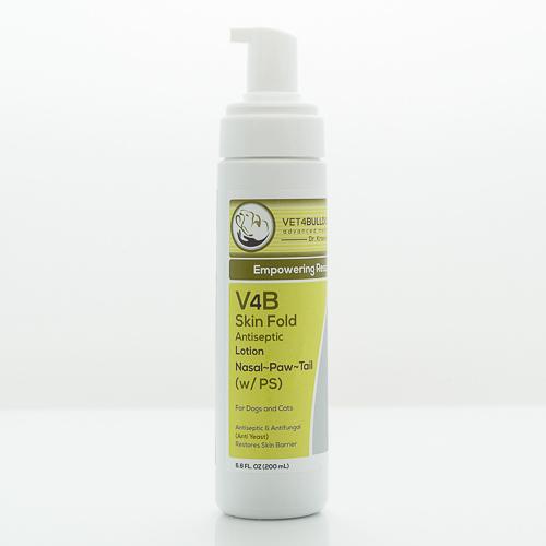 v4b bulldog skin fold antiseptic lotion