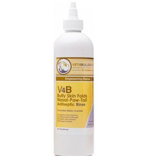 v4b bulldog skin fold antiseptic rinse