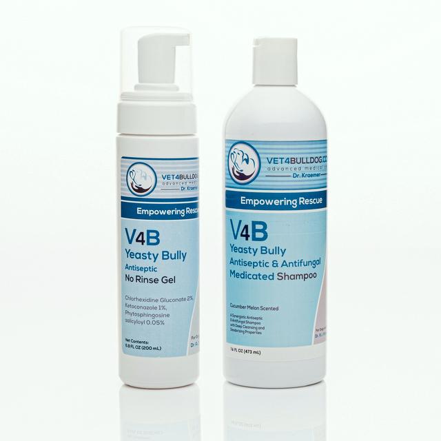 V4B Yeasty Bulldog Antiseptic Skin Care Affordable Bundle