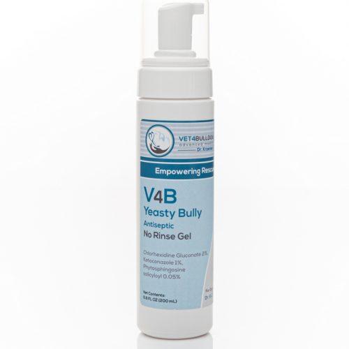 V4B Yeasty Bully Antiseptic Waterless Gel