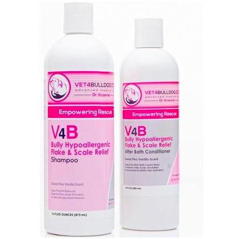 V4B Bulldog Hypoallergenic skincare Affordable Basic Bundle