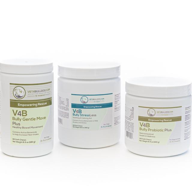 V4B Bulldog and French Bulldog Gastrointestinal Advance Bundle